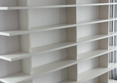 Boekenkasten in Almere